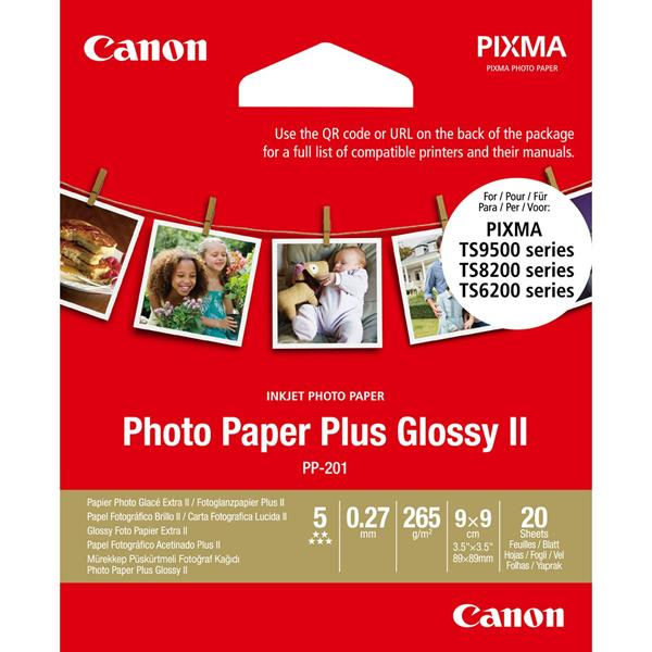 PP-201 3.5X3.5INCH 20 SHEETS PHOTO PAPER PL US