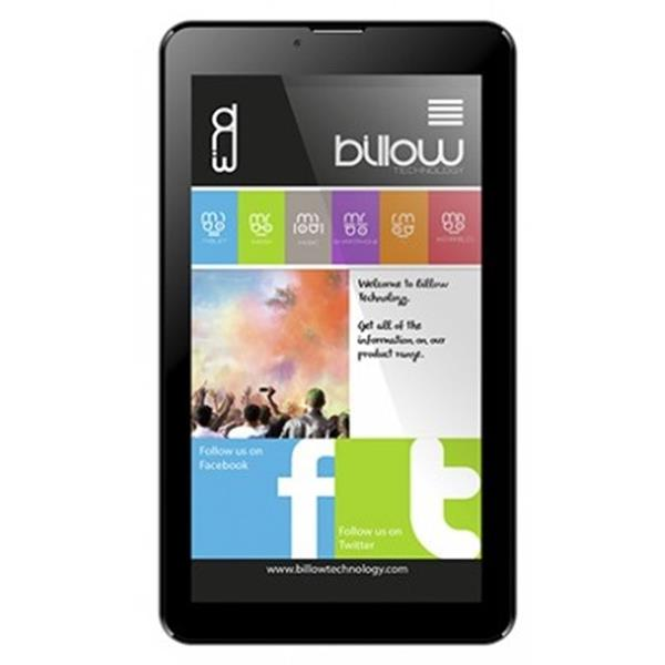 "Tablet Billow 7 -7"", HD, 8GB, Bluetooth, Android 8.1, Negro"