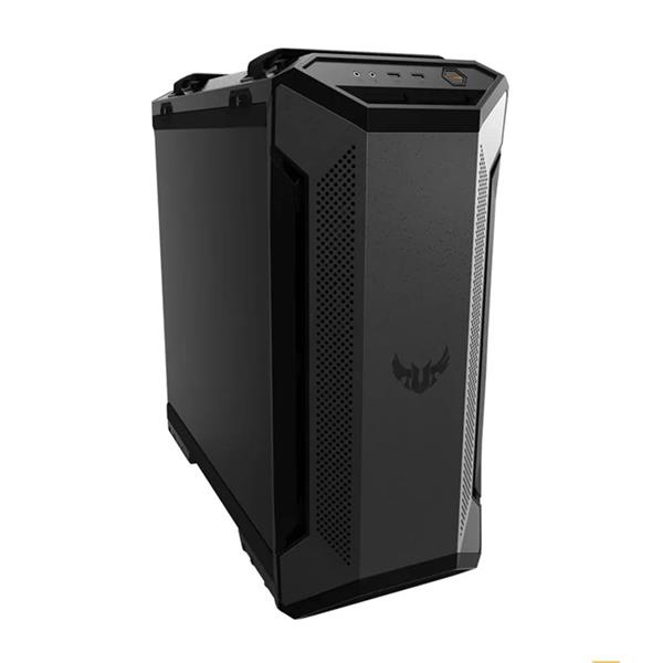 "CAJA ASUS TUF GAMING GT501,ATX MID TOWER,METAL+CRISTAL,4X2.5""/3.5""+3X2.5"",FAN 3X120MM AURA RGA+1X140MM,2XUSB3.1+AUDIO+MICRO (NEGRA)"