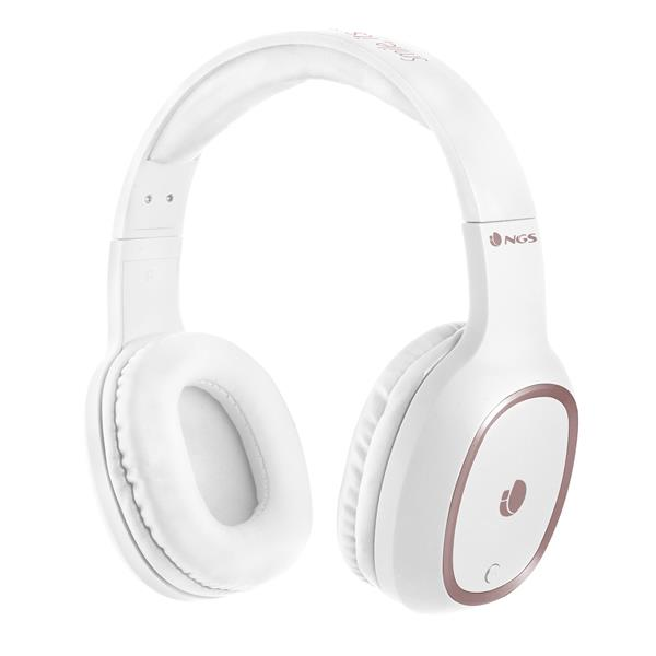 Auriculares Inalámbricos NGS Artica Pride 105dB Bluetooth White - Beep