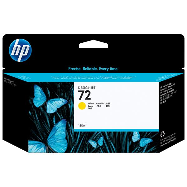 HP C9373A Nº 72 AMARILLO 130 ML