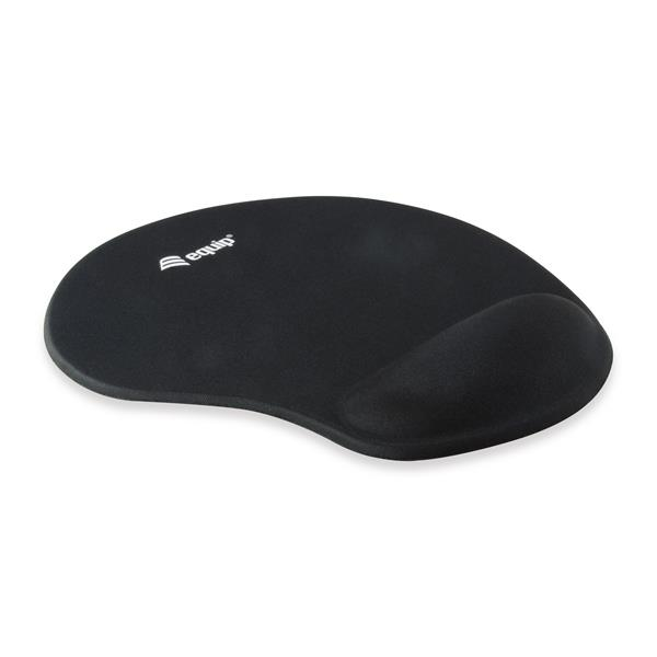 ALFOMBRILLA DE GEL PARA MOUSE EQUIP LIFE COLOR NEGRO