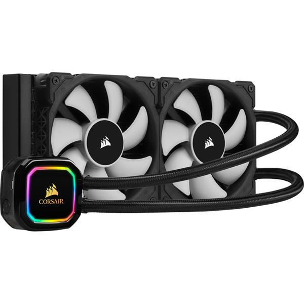 VENTI. CPU CORSAIR COOLING ICUE H100i RGB PRO XT LIQUID CPU COOLER CW-9060043-WW