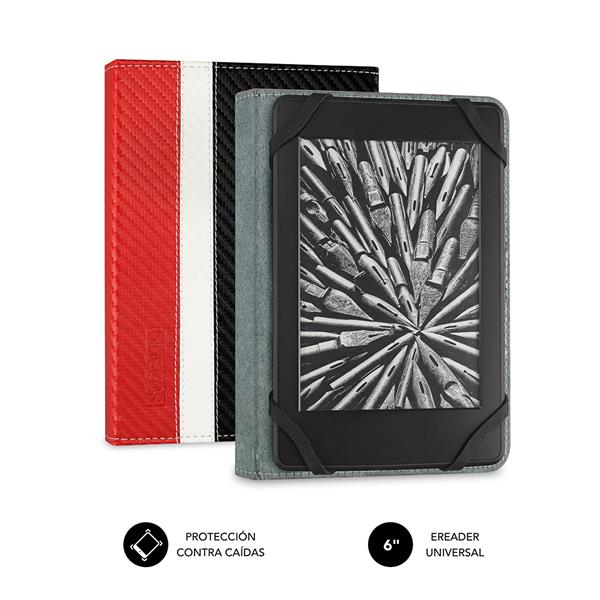 FUNDA EBOOK SUBBLIM 6´´ RED