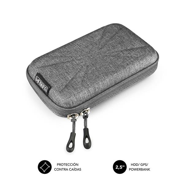 "SUBBLIM HDD BUSINESS CASE 2,5"" GREY"