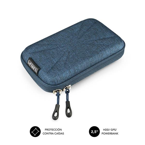 "SUBBLIM HDD BUSINESS CASE 2,5"" DARK BLUE"