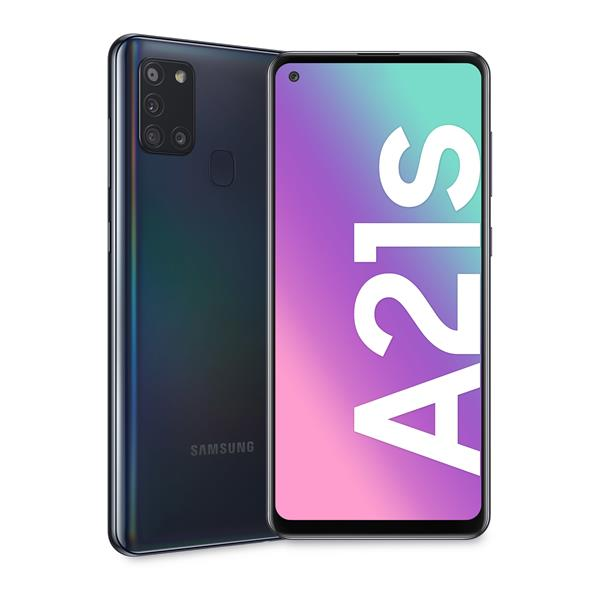 GALAXY A21S 6.5IN ANDRD 10 4+64GB BLACK IN
