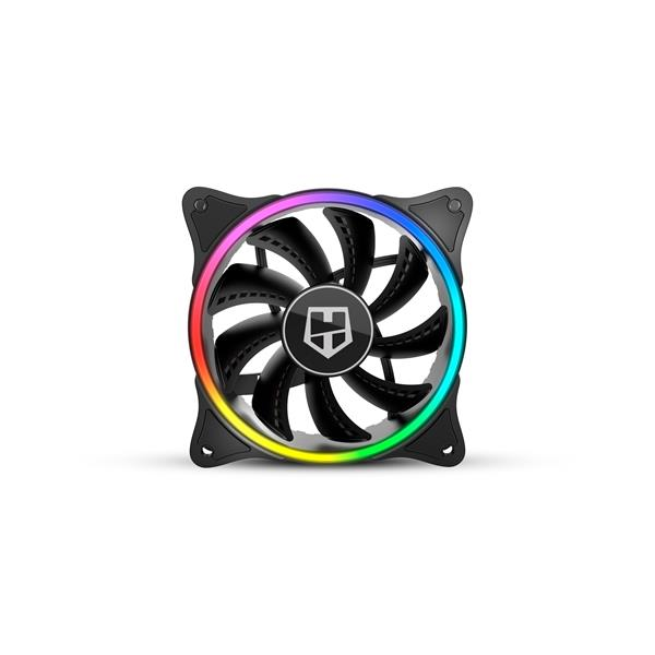VENTILADOR CAJA NOX HUMMER X-FAN ARGB HALO RING FAN