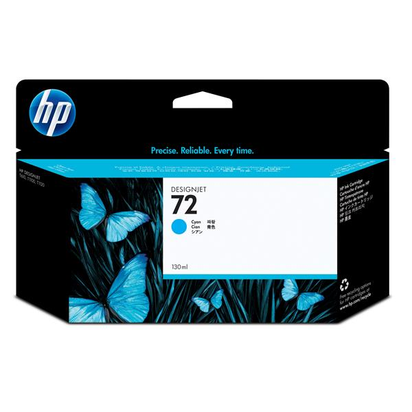 HP 72 Cyan Ink Cart/Vivera Ink 130ml