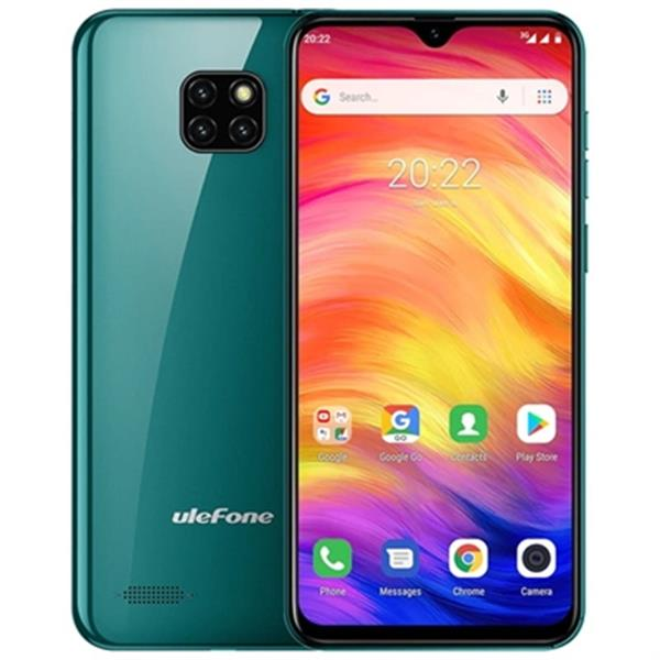 "ULEFONE SMARTPHONE NOTE 7 GREEN  3G/6.1"" HD/ OC 1.3GHZ/16GB ROM/1GB RAM/5MP/3500MHA"