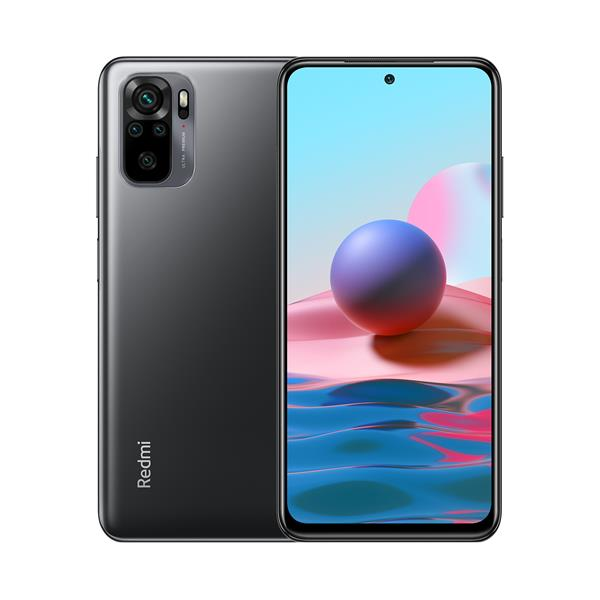 "Móvil Libre Xiaomi Redmi Note 10 6,43"" FHD+ 4G 4/128GB And11 Onyx Gray - Beep"