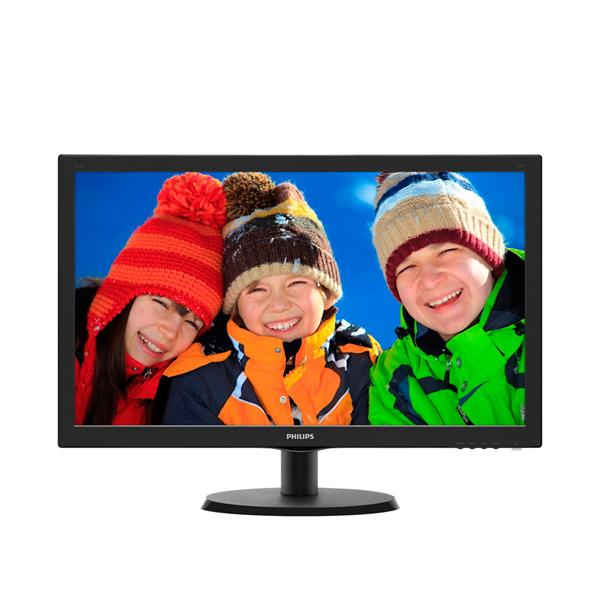 "MONITOR PHILIPS 223V5LSB2 / 21.5"" / LED / 1920X1080 / VGA / COLOR NEGRO"