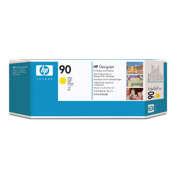 HP Ink Cart/No90 yellow Print Cleaner