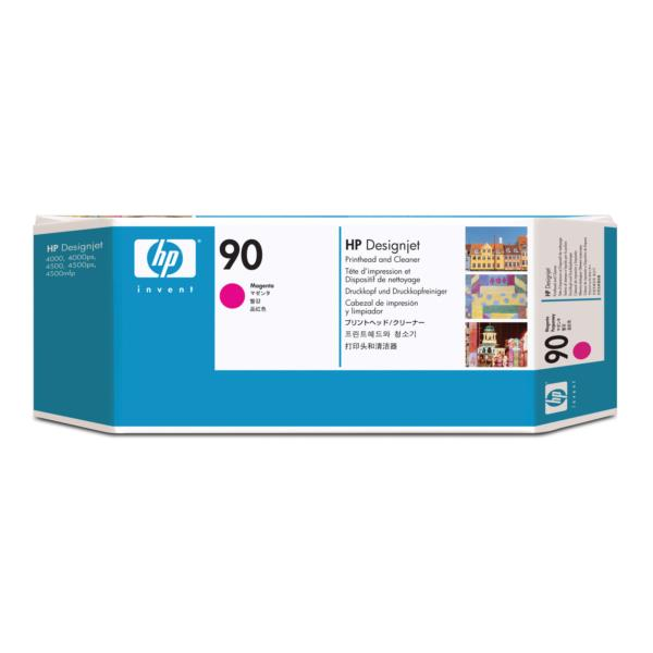 HP Ink Cart/No90 Magenta Print Cleaner