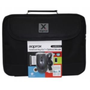"Bundle Briefcase 15.6""+optic mouse USB"