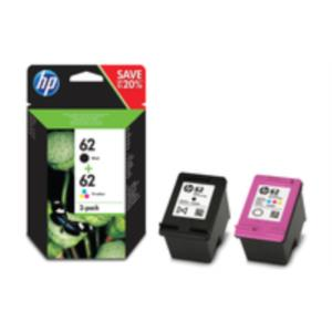 HP 62 Ink Cart Combo 2-Pack Blistered
