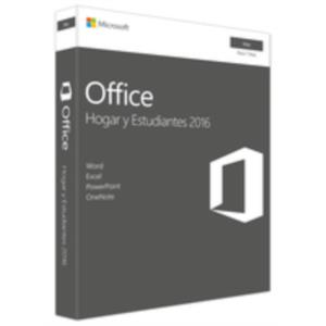 OFFICE MAC HOME STUDENT 2016ES