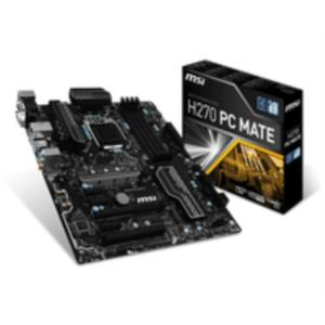 PLACA INTEL CORE i3/i5/i7 MSI H270 PC MATE SK1151 DDR4 PCX3.0 ATX HDMI DVI