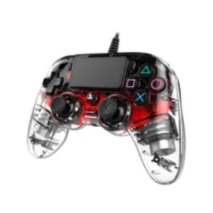 GAMEPAD NACON PS4 OFICIAL GAMING CONTROLLER LIGHT RED