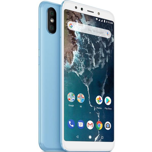 "XIAOMI MI A2 - 5,99"", FULL HD+, 4G, OCTA CORE 2.0GHZ, 4GB RAM, 64GB, AZUL"