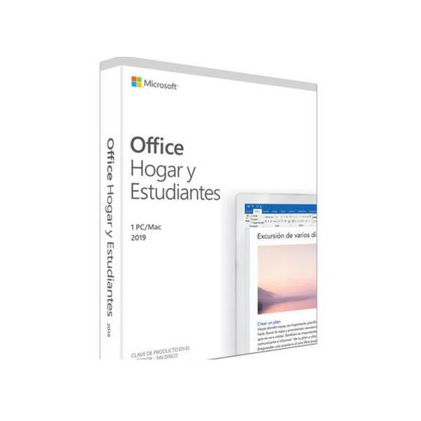 MICROSOFT OFFICE HOME & STUDENT 2019 - 1 LICENCIA