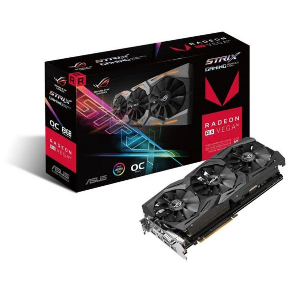 RADEON ROG-STRIX-RXVEGA56-O8G GAMING 8GBHBM2 1573MHZ HDMI2 DP2 IN