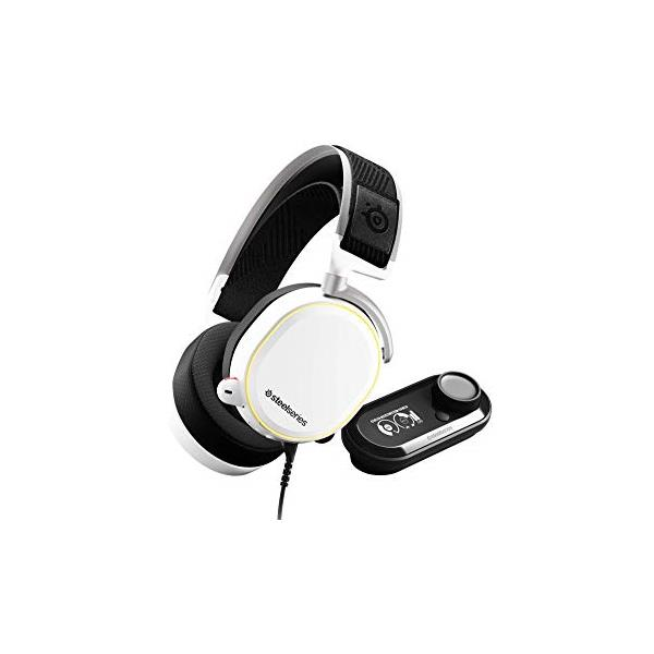 Auriculares + micro Steelseries Arctis Pro Wireless White PC/PS4