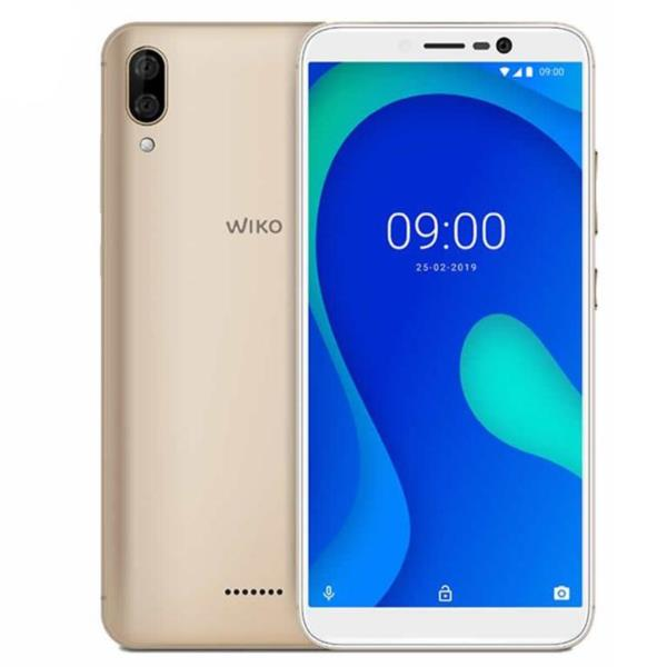 "Wiko Y80 - Smartphone 5.99"" IPS, 2GB RAM, Octa Core 1.6GHz, 4G, 16GB, 5MP, Android 9.0, Oro"