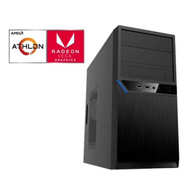 PC Netway Athlon 200GE/8GB RAM/240GB SSD/DVD/W10