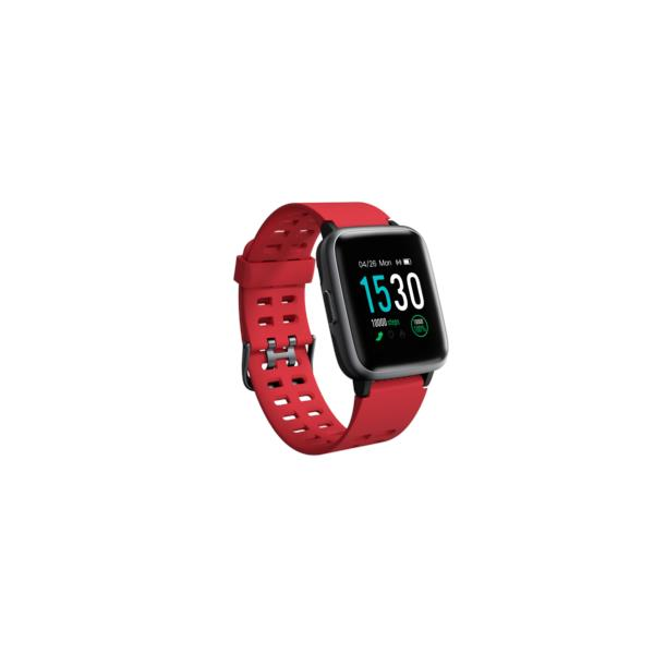 LEOTEC SMARTWATCH MULTISPORTS FIT 814 ROJO