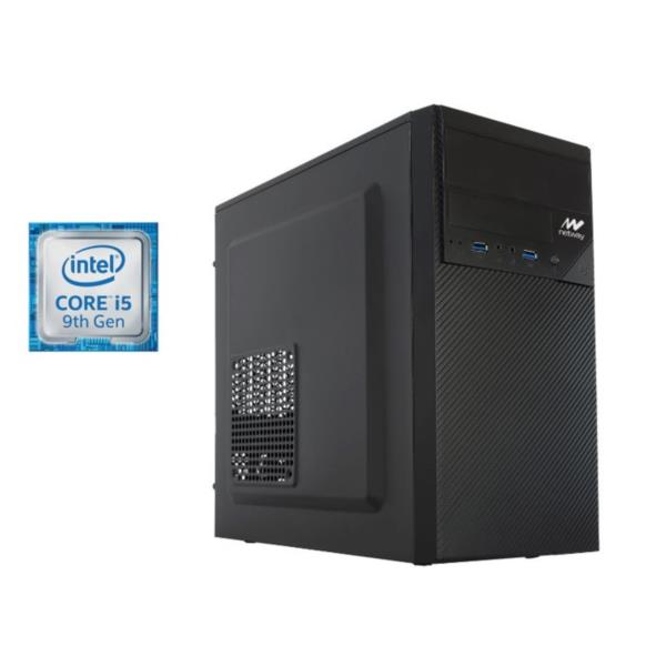 PC Netway - i5-9400F, 8GB RAM DDR4, 480GB SSD, GeForce GT 710, DVD, FreeDos