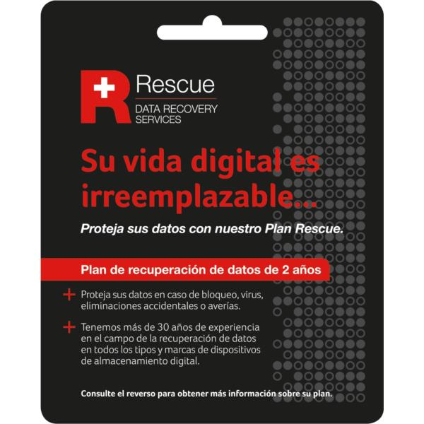 RESCUE 2YRS DATA RECOVERY SERVICE PLAN SPANISH IN