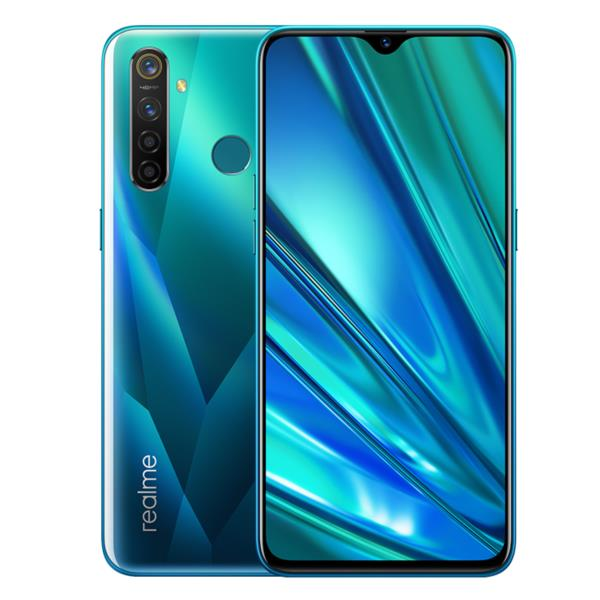 "REALME 5 PRO 6.3""/OCTA CORE/8GB/128GB/AND 9/CRYSTAL GREEN"