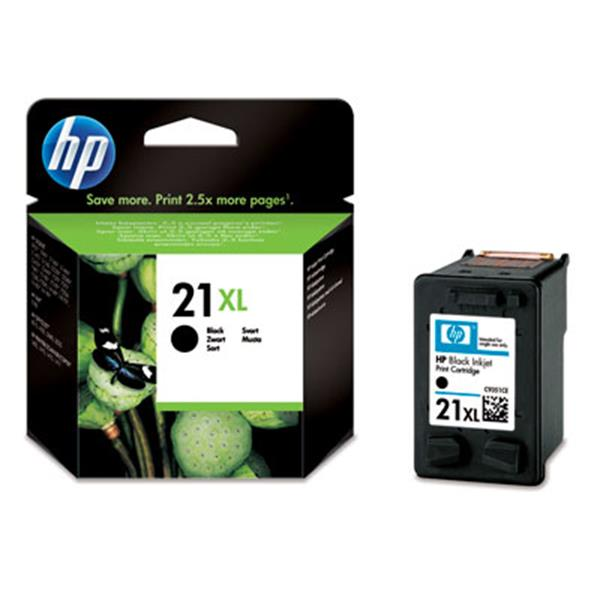 CARTUCHO HP 21XL INK CART + BLACK XL