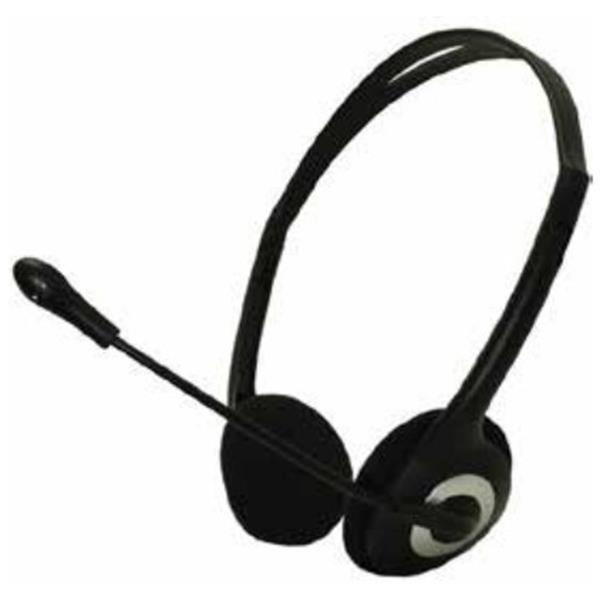 Light-Weight Stereo Headset Black