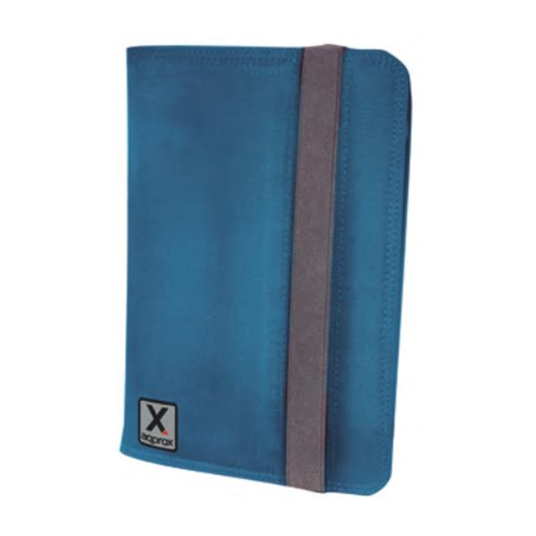 """FUNDA TABLET 7"""" APPROX STAND AZUL"""
