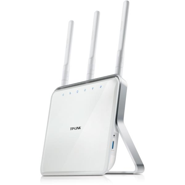 ROUTER INAL. TP-LINK ARCHER C8 4 PUERTOS 5GHZ 1GBPS 3 ANT DESMONTABLE DUALBAND