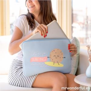 "FUNDA PORTATIL 15.6"" SURFING MR. WONDERFUL"