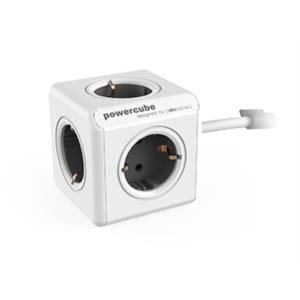 PowerCube Extended Gray 1.5m 4 outlet