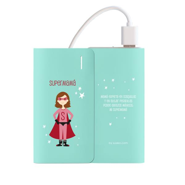 POWERBANK 4.000 MAH VERDE - SUPERMAMA