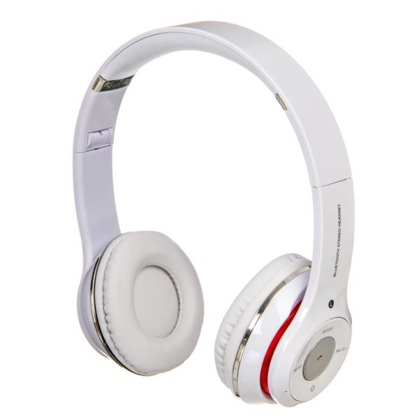 Auriculares Netway Space - Inalambricos, Plegable, Bluetooth, Blanco