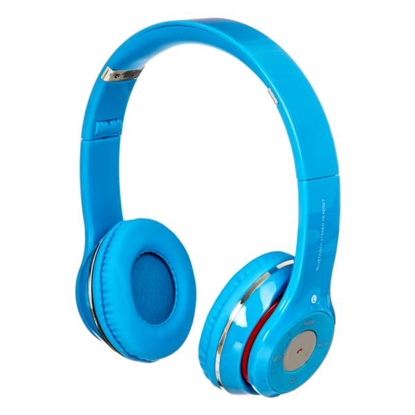 Auriculares Netway Space - Inalambricos, Plegable, Bluetooth, Azul