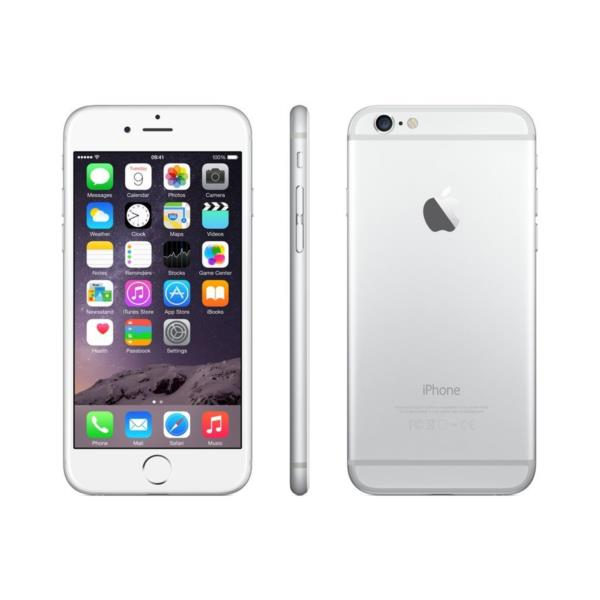 iPHONE 6 64GB - Plateado, Reacondicionado Grado A