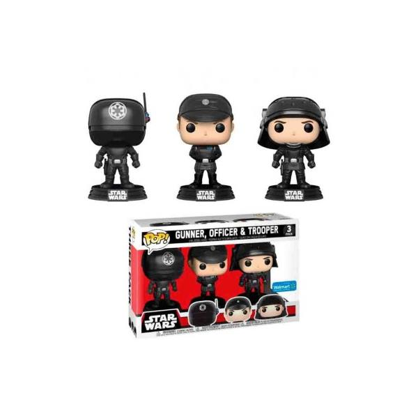 POP - STAR WARS PACK GUNNER, OFFICER & TROOPER LIM. ED.
