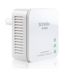 ADAPTADOR DE HOMEPLUG ETHERNET TENDA P200 200MBPS