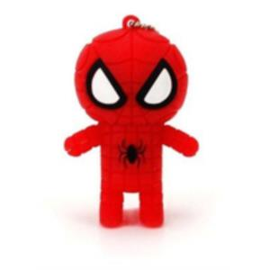 MEMORIA 16 GB REMOVIBLE CONNECTION 3D SPIDERMAN ROJO USB 2.0
